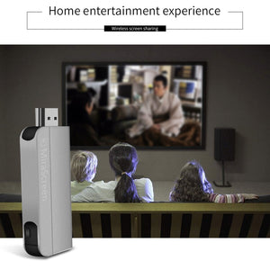 MiraScreen K2 1080P HD 2.4G Wifi TV Stick Wireless HDMI Dongle Miracast Airplay DLNA Screen Mirroring Display Receiver