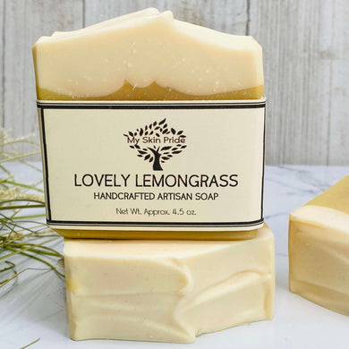 Lovely Lemongrass Soap - My Skin Pride