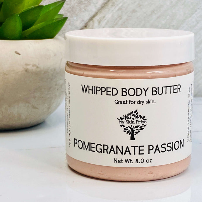 Pomegranate Passion Whipped Body Butter - My Skin Pride