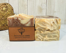 Load image into Gallery viewer, Patchouli Swirl Soap - My Skin Pride