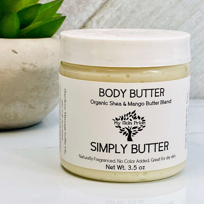 SIMPLY BUTTER Whipped Body Butter - My Skin Pride