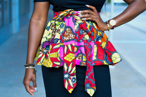Tega Peplum Wrap Belt | Accessories | Flair By Ashi