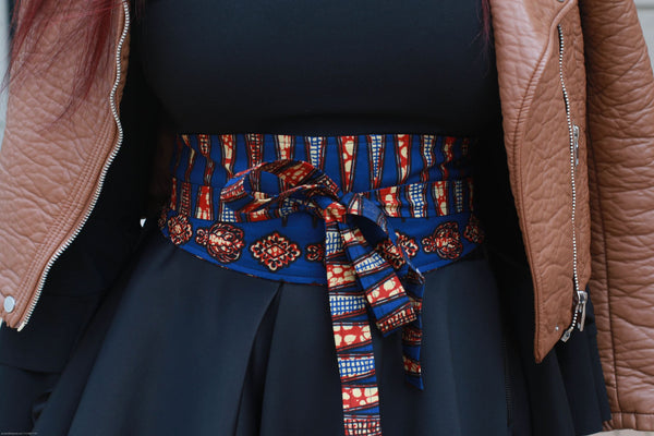 Funmi Obi Wrap Belt | Accessories | Flair By Ashi