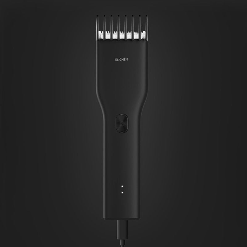 Enchen Boost Electric Hair Trimmer Clipper USB Ceramic Hair Cutter Professional Fast Charging Hair Men Trimmer Clipper Children - FRANCIIS