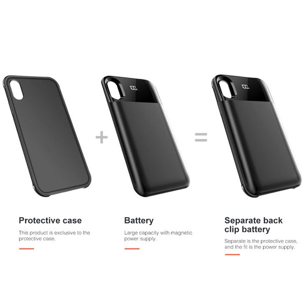 Smart iPhone Charging Case - FRANCIIS