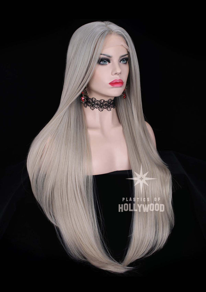 ELVEN GRAY - Ash Blonde Gradient Wig