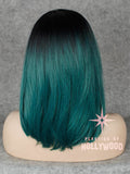 KYLIE - Teal Green Long Bob Wig