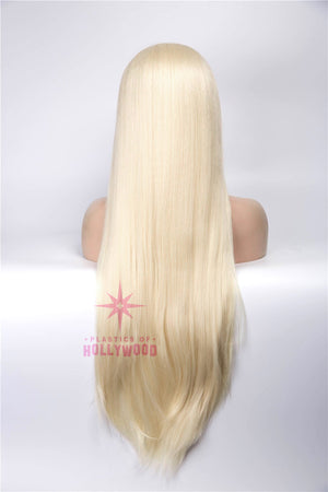 MALIBU BARBIE - Long Platinum Blonde Wig