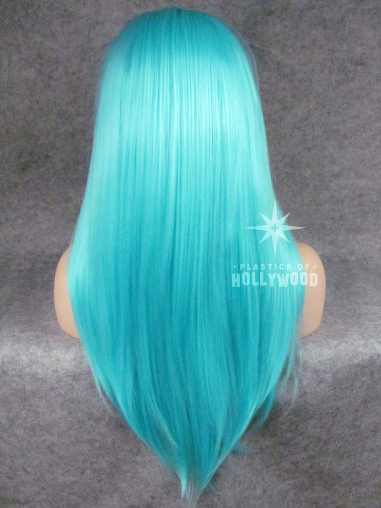 ICE QUEEN - Light Blue Lace Front Wig