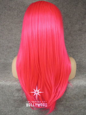 JEFFREE - Celebrity Inspired Hot Pink Wig