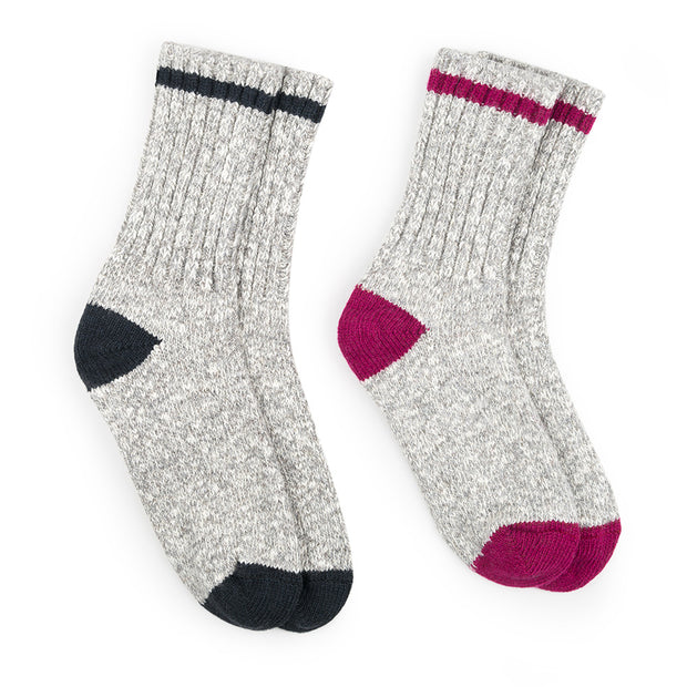 Women's Hiking Socks (Style 1541B-03) - 2 Pack