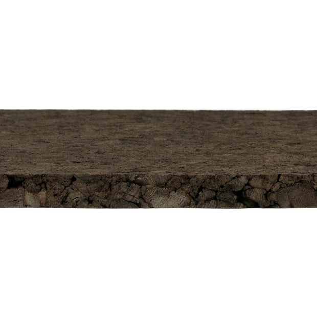 "Brown Cork Sheets - 12"" Wide x 36"" Long"