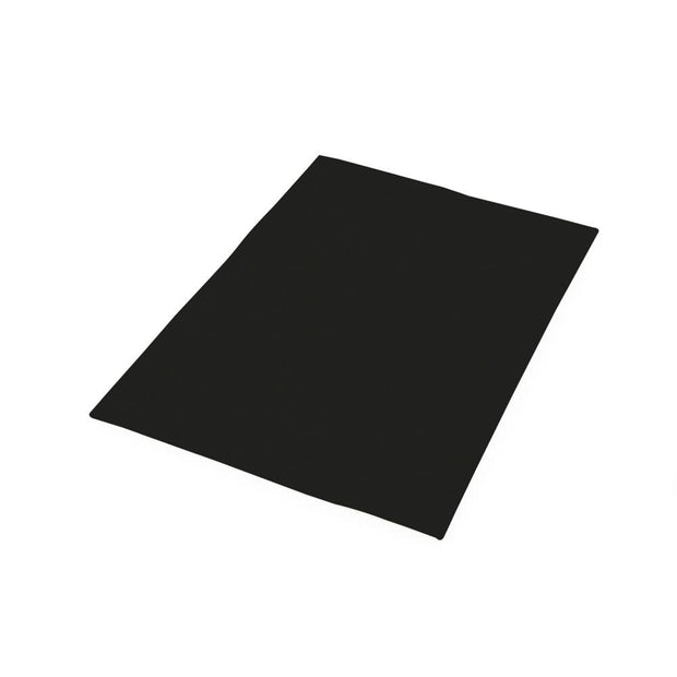 "Fun Foam Sheets - 9"" Wide x 12"" Long, Black, 12 Pieces"