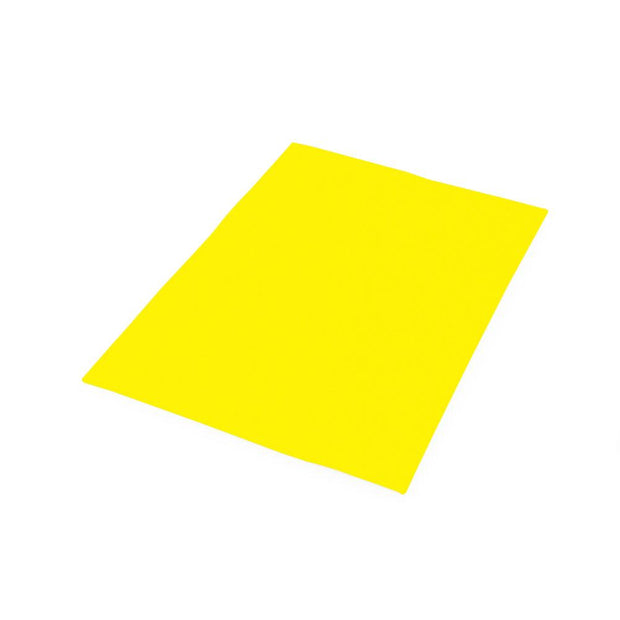 "Fun Foam Sheets - 9"" Wide x 12"" Long, Yellow, 12 Pieces"