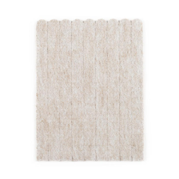 Heavy Duty Felt Strips - Beige, 54 Pieces