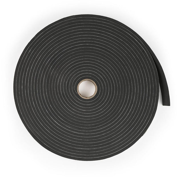"1/4"" Wide Sponge Neoprene Stripping - Adhesive"