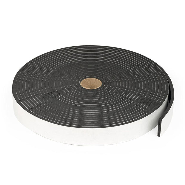"3/8"" Wide Sponge Neoprene Stripping - Adhesive"