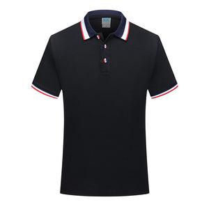 Golf Polo Shirt Men Short Sleeve Breathable Golf Clothing Training T-shirt