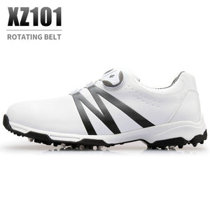2018 PGM Golf Men Shoes Super Leather Sport Shoes Waterproof  Breathable Anti Skid Shoes For Male Size EUR 39-45