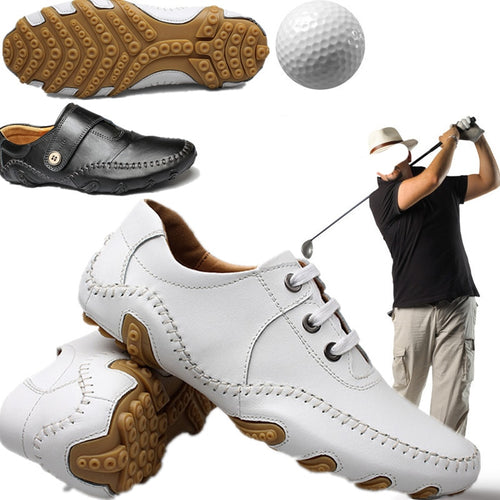 Golf Shoes Man Golf Sneakers Lace up non slip Sports Shoes