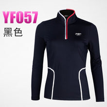 Load image into Gallery viewer, Ms Authentic Long Sleeve T-shirt Tops Girl Polo Shirt Women Quick Dry Clothes TT Design Apparel Female Train shirt Golf