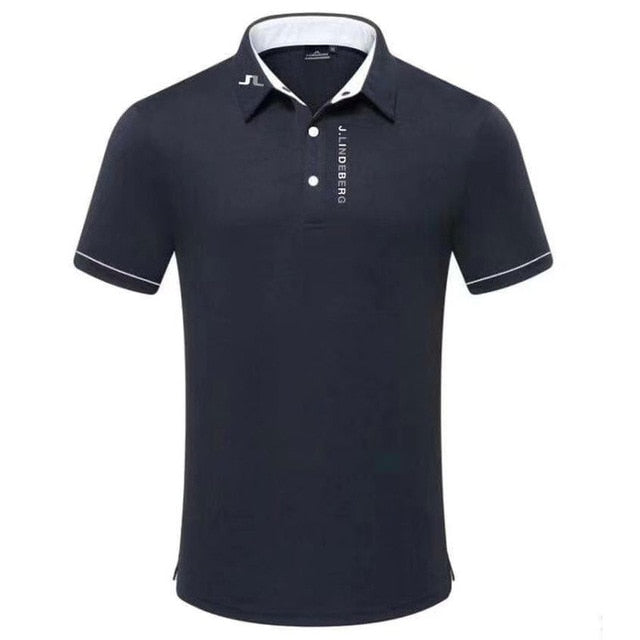 Golf clothes Short Sleeves Anti-Pilling Golf T-Shirt Male Outdoor Sports