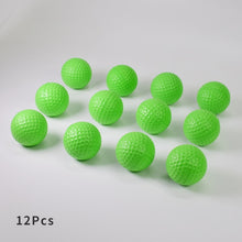Load image into Gallery viewer, Yellow Green Orange 12Pcs Foam Practice Golf Balls Outdoor Indoor Golf Training Balls