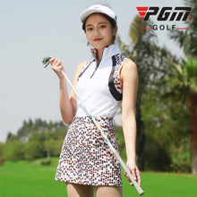 Load image into Gallery viewer, Pgm Women Golf Sleeveless Shirts Ladies Zipper Training Golf T-Shirt Summer Breathable Quick-Dry Vest Clothing A7106