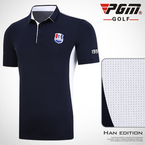 Men's Breathable Golf Clothing Golf T-shirt PGM Summer Golf shirts
