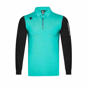 Men's Golf Wear Breathable Long Sleeve Golf Male Outdoor Sports T-shirt
