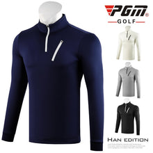 Load image into Gallery viewer, Men'S Long Sleeves Breathable Zipper Golf T-Shirt Male Outdoor Sports