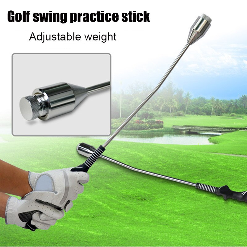 Golf Swing Training Aids Stick for Tempo Grip Strength Training Sport Supplies