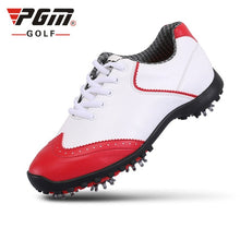 Load image into Gallery viewer, Pgm Golf Shoes Women's  Waterproof Golf Sports Activities Nail Shoes Ladies Brogue Style Breathable Sports Trainers