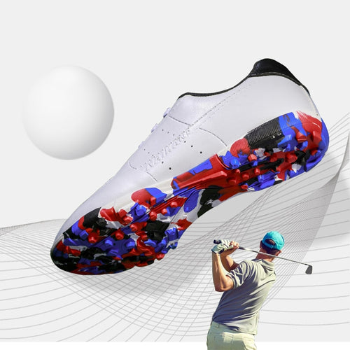 Professional Golf Shoes for Men Women Kids Lace Up Breathable Training Golf Sneakers