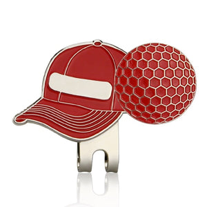 GOG Golf Marker Golf Cap Clip with Magnetic Hat Clips Golf Training Accessories Multi Colors Animal cup and flag slippers
