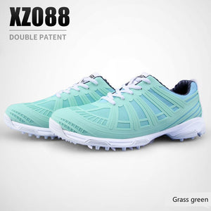 2020 New Arrival PGM Women's Golf Shoes Double Patent Waterproof Anti Skid Shoe Outdoor Leisure Sports Shoes Plus Size 35-40