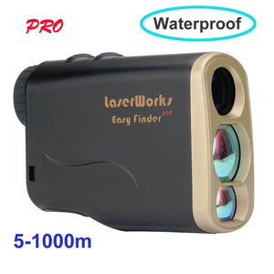 Brand New Laserworks 6x25 Optics 1000m Hunting Telescope Golf Distance Meter Measure Laser Rangefinder Scope Easy Range Finder