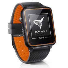 Load image into Gallery viewer, DREAM SPORT Golf GPS Watch with+40000 Golf Course,Golf Tracking with Yardage Distance/Hazard/Range Finder/Score Card DGF4 Orange