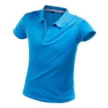 Load image into Gallery viewer, Brand T Shirt Men Summer Casual Solid Slim Short Sleeve Tops Breathable Quick Dry Tee Sportswear Golf Tennis T-Shirt Jerseys 4XL