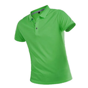 Brand T Shirt Men Summer Casual Solid Slim Short Sleeve Tops Breathable Quick Dry Tee Sportswear Golf Tennis T-Shirt Jerseys 4XL