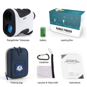 2021 Golf Rangefinder Slope adjust Flag-Lock with Jolt Vibrate Laser Range finder Distance Meter Laser Telescope BH600S