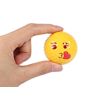 Emoji Funny Cute Golf Ball