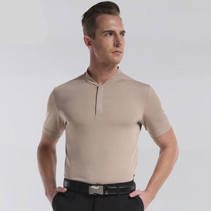Golf Polo Shirt Sleeve Loose Outdoor