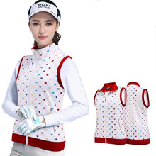 Load image into Gallery viewer, Golf Vest Jackets For Women Windproof