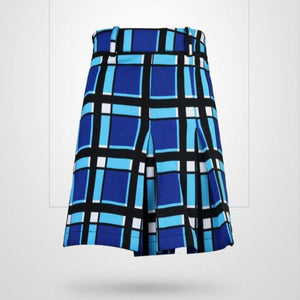 Women Summer Wind Pleated Skirt