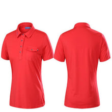 Load image into Gallery viewer, Breathable Women's Golf Polo Shirt