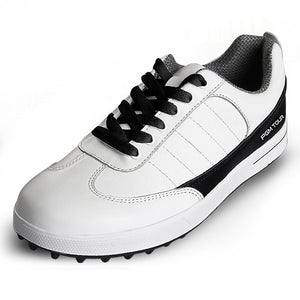 Top-Grain Leather Waterproof Golf Shoes