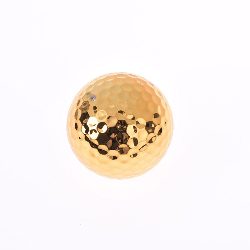 Plated Golf Ball