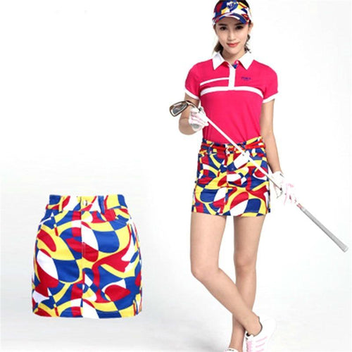 Women Summer Sport Golf Skirt