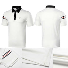 Load image into Gallery viewer, Men golf shirt Summer Short sleeve T-Shirts
